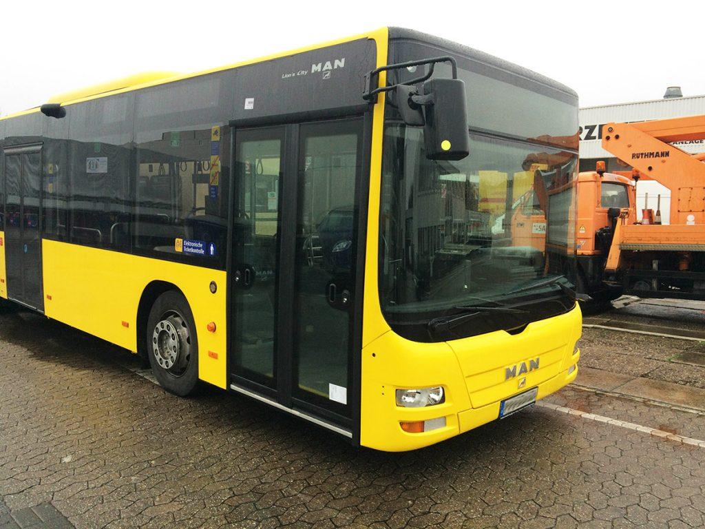 Bus ist wieder fertiggestellt. Bitte einsteigen ….