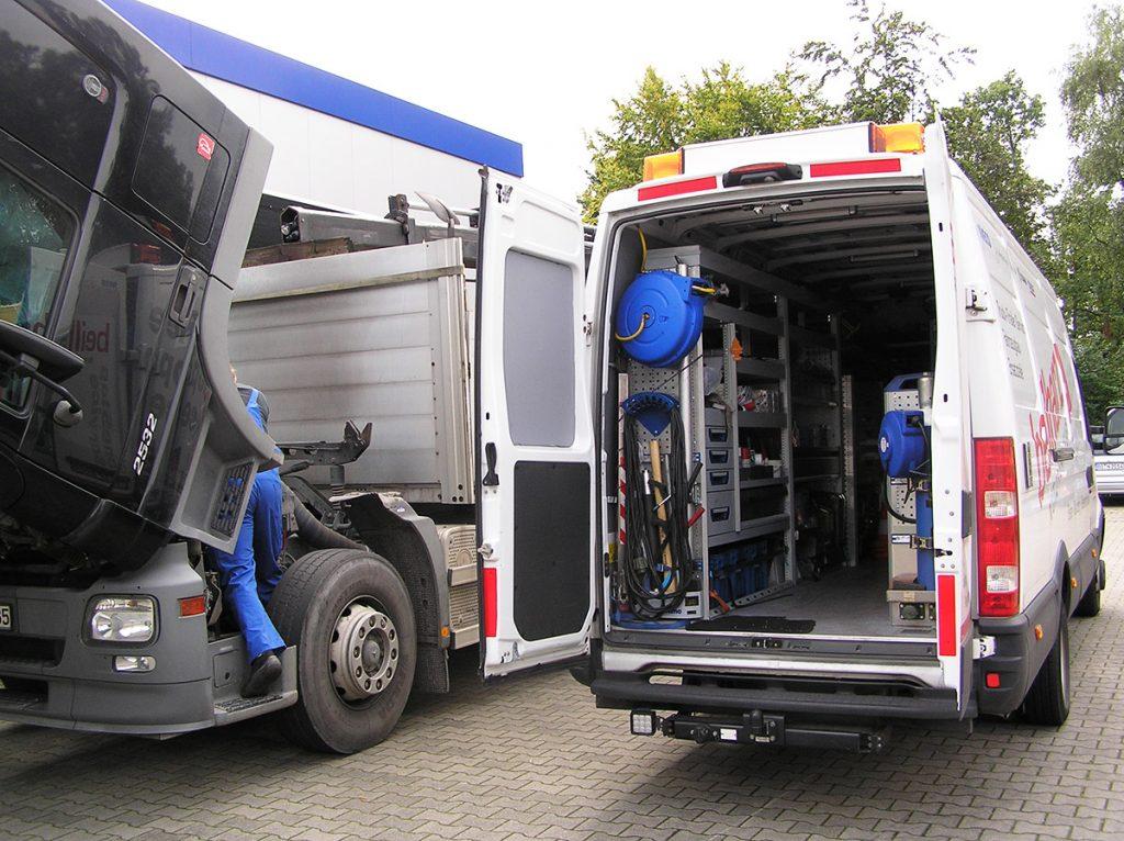 Notdienstfahrzeug KFZ