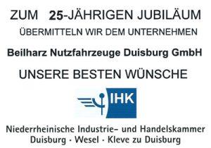 25 Jahre Beilharz Nutzfahrzeuge in Duisburg