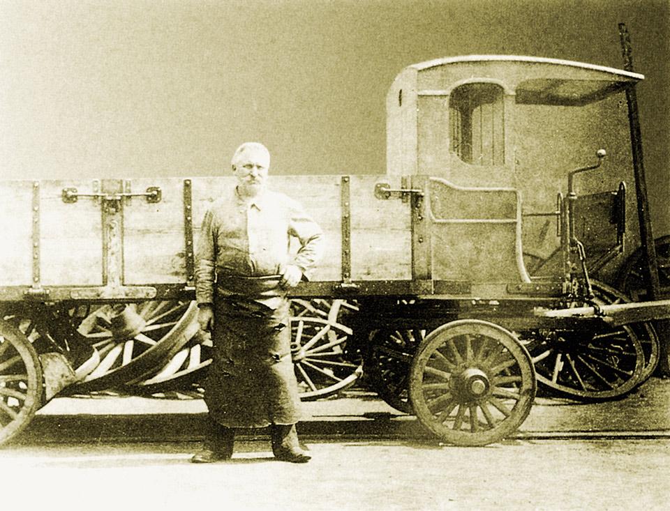 Geschichte - Beilharz Nutzfahrzeuge