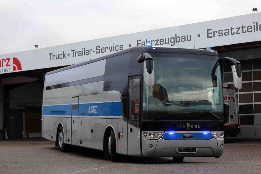 Gefangenentransportbus