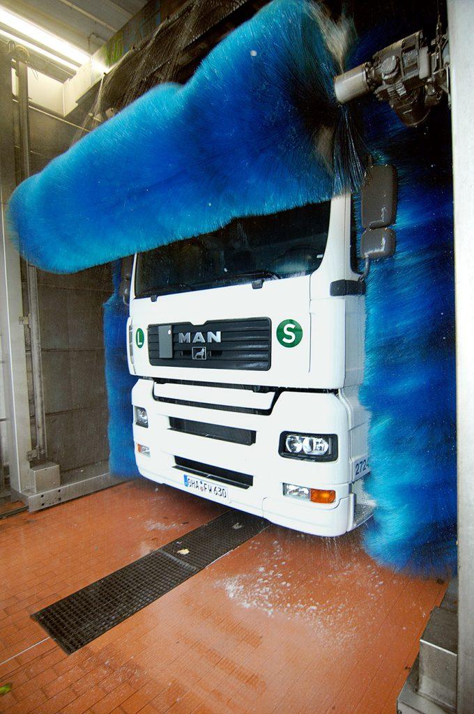 Truckwäsche