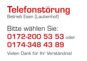 Telefonstoerung Laubenhof