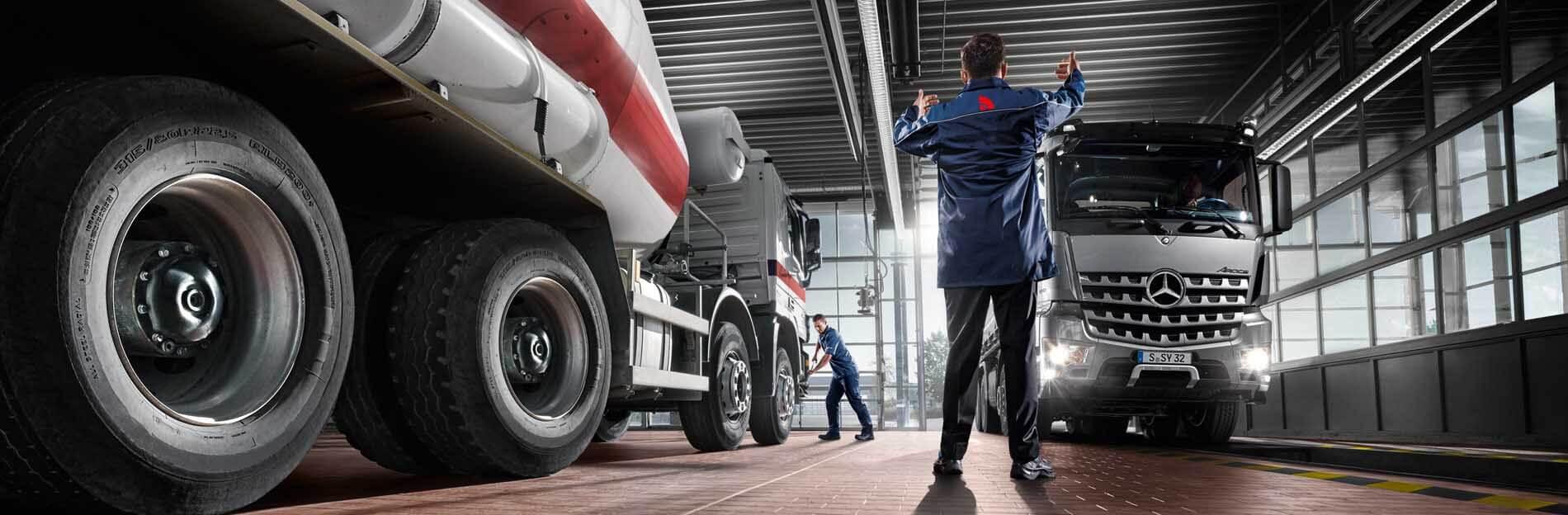 Service: KomplettService für Truck, Trailer und Busse